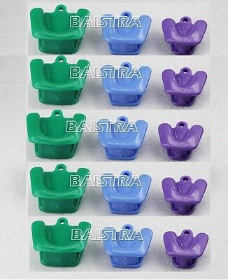 GER ! 5 XDental Silicone Autoclavable Impression Tray Mouth Prop (3pc/ kit)