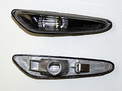 Bmw 3 Series E46 Convertible & Coupe (01-02) Side Indicator Repeaters - Black