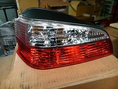 Peugeot 106 Mk2 Rear Tail Lights Jewel Style - Red / Clear