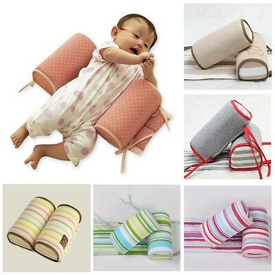 New Baby Infant Sleep Positioner Anti-Roll Cushion Pillow in Crib