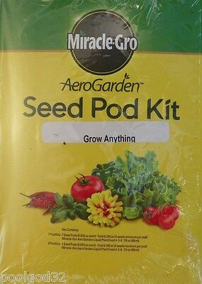 Miracle-Gro AeroGarden Grow Anything 1-Season Kit for all Hydroponic Aerogardens