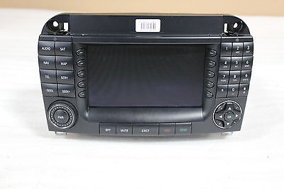 W220 W215 Mercedes Navigation Head Unit Stereo Comand Radio CD Player GPS CL S