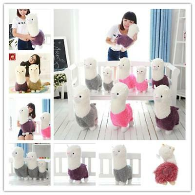 Llama Alpaca Sheep Fleece Stuffed Plush Doll Toys For Kid's Xmas Gift Fashion B