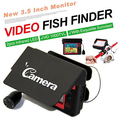 Underwater Professional Fish Finder Fishing Video Camera HD Monitor LQ-3505D