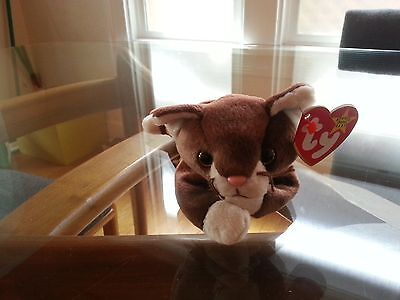 'Pounce' the Kitty Ty Beanie Baby - MINT - RETIRED