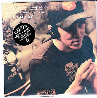 "EP 7"" ELLIOTT SMITH alternate versions either or RECORD STORE DAY 2013 vinyl 45"