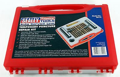 Sealey TST10 Temporary Tyre Puncture Repair Fix Kit Car Offroad 4x4 Tubeless