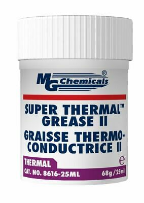 MG Chemicals 8616-25ML Cream Super Thermal Grease II, Silicone Free and Non Blee