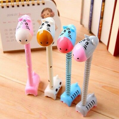 Funny Cute Point Pen Ballpen Student Toys School Office Gift Cartoon Stationery