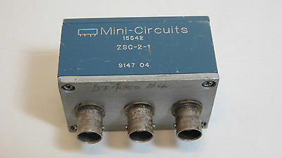 Mini-Circuits ZSC-2-1  2-Way Power Splitter.  0.1 to 400MHz,  Isolation  25dB.