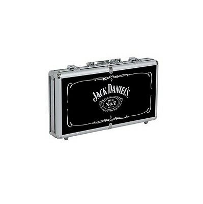 Jack Daniels Old No. 7 Aluminum  Poker Chip Set w/ FREE Shipping