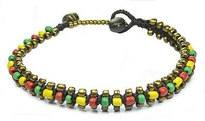 Rasta Anklet, Ankle Anklets Ankle chain Handmade Chiang Mai, Thailand