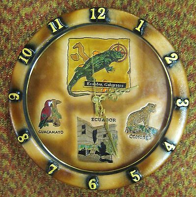 Beautiful and Unique Galapagos Islands, Equador WALL CLOCK - wild animals theme