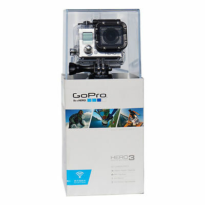 GoPro HERO 3 White Edition Camcorder - Black/Silver