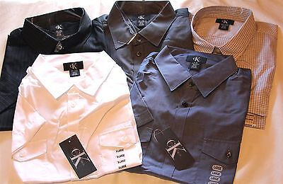*NWT* Men's Calvin Klein Lifestyle-Button-Up/Short Sleeve-Dress Shirt