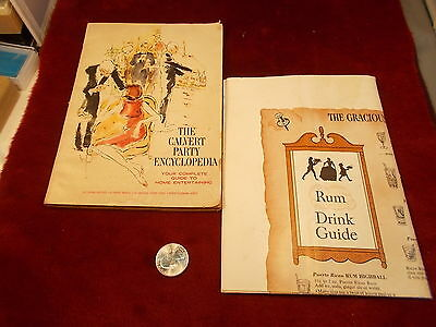 "Neat Old Vtg 1964 Book/booklet, ""the Calvert Party Encyclopedia"" Mad Men Style++"