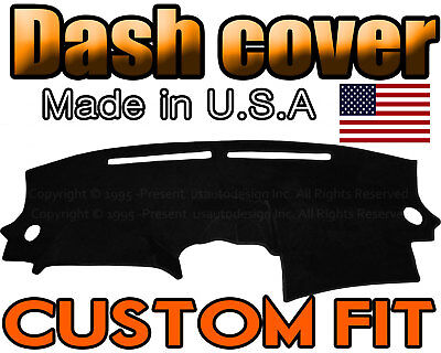 Fits 2007-2012 NISSAN ALTIMA DASH COVER MAT DASHBOARD PAD / BLACK