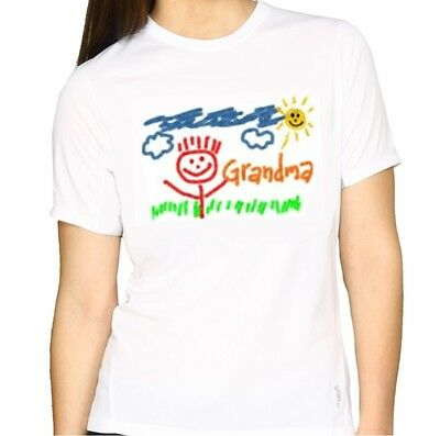 Your Child's Drawing on a T-Shirt!