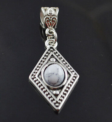 fashion jewelry  Natural hot Turquoise cute tibet silver PENDANT    **XL1395
