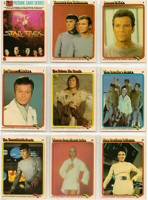 1979 Rainbo Bread Star Trek - Complete 33 Card Set