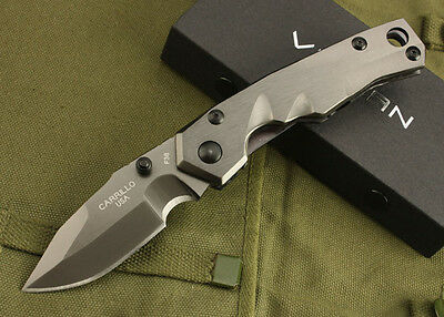 heavy weight custom duty blade thick hunting tactical steel folding knife gift}