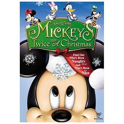 Mickey's Twice Upon A Christmas (DVD, 2004)