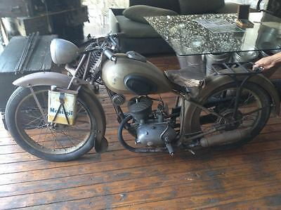 Other Makes : Peugeot 156 1949 peugeot 156 motorcycle with the original french registration license