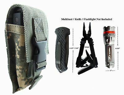 For Gerber Multi Tool MP600, MP800, Folding Knife,Flashlight Adjustable Pouch AD