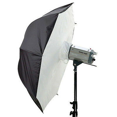 "2 x 33"" Photography Umbrella Softbox Studio Reflective Flash Diffuser Bolly Box"