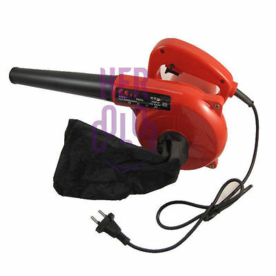 Electric Hand Operated Blower for Cleaning computer,Red Electric blower