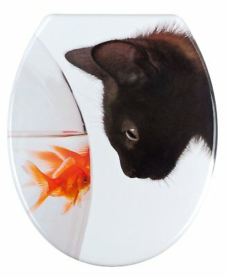 Wenko WC-Sitz Fish & Cat