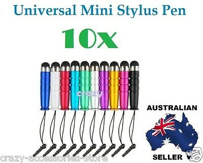 10X Universal Capacitive Touch Screen Mini Stylus Pen For iPhone iPad Note Tab