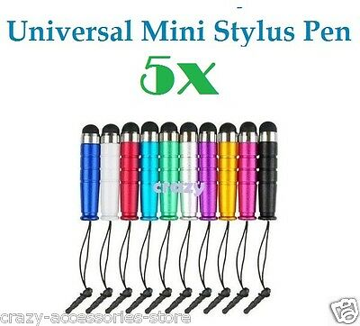 5X Universal Capacitive Touch Screen Mini Stylus Pen For iPhone iPad Note Tab
