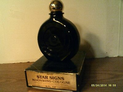 VTG 1975 AVON STAR SIGN-ARIES-MOONWIND COLOGNE-NEW IN BOX-FREE SHIPPING