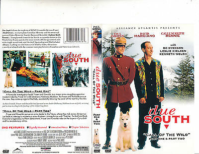 Due South:Call of The Wild-2003-Part 1 & Part 2-Paul Gross-Canada Movie-DVD