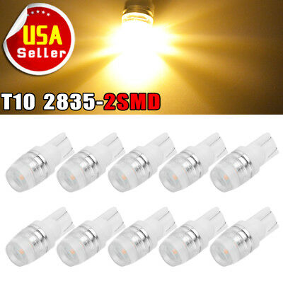 20X Red T5 B8.3D 5050 1-SMD Dashboard Gauge Climate Dash Cluster LED Light Bulbs