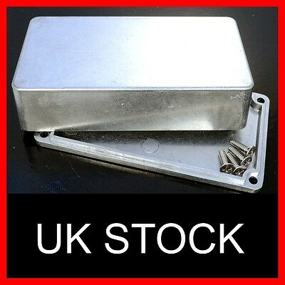 Aluminium Die Cast metal enclosure guitar effect effects pedal box case hammond