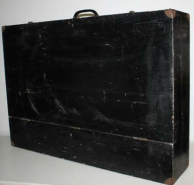 Vintage Extra Large  Storage / Tool  Box Trunk  Garage Garden