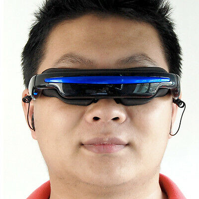 New 4:3 Wide Screen HD 3D Stereo Virtual Video Glasses Eyewear Mobile Theater 4G
