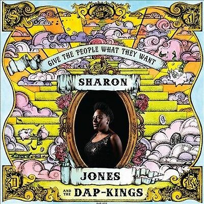 SHARON JONES AND THE DAP-KINGS**GIVE THE PEOPLE WHAT THEY WANT**CD
