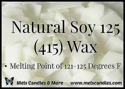 3 POUNDS OF 100% SOY WAX FLAKES FOR CANDLE MAKING SUPPLIES NO ADDITIVES