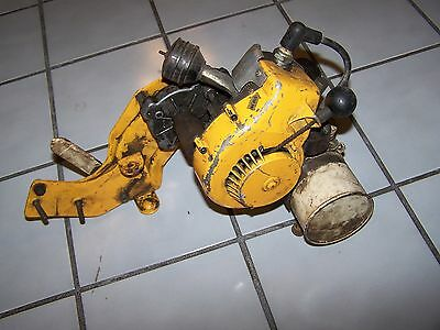 RARE VINTAGE ANTIQUE BICYCLE MOTOR ENGINE MOTOR CYCLE  MINI BIKE         WHIZZER