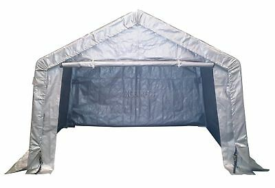FoxHunter New Galvanized Waterproof Motor Bike Cover Storage Shed Tent Garage 3M