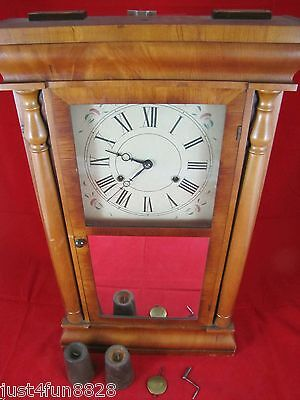 Antique Seth Thomas Weight Driven Mantle Clock