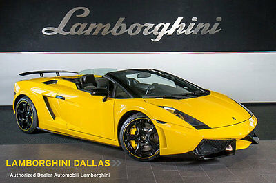 Lamborghini : Gallardo Spyder ONLY 8K MILES!! + EXHAUST + HOMELINK + BLACK CASSIOPEA WHLS + LARGE RR WING