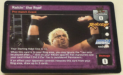 WWE Raw Deal RAISIN' THE ROOF Rikishi premium rare