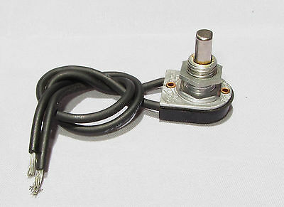 Vintage Circle F Push Button Lamp Switch On-Off Silver Color 3A 125VAC VT 250V i