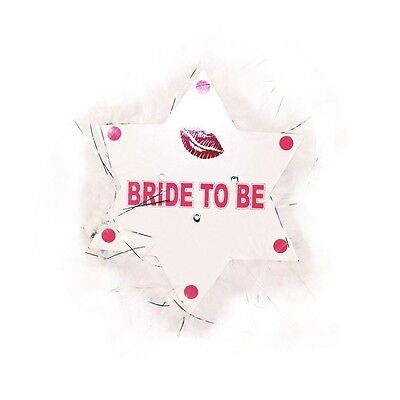 Bride To Be Flashing Badge Hen Night Party Accessories, Gifts & Bag Favours