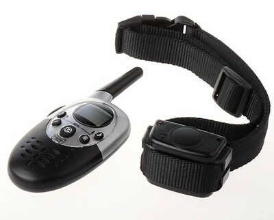 E613 1000M Waterproof Remote Electric Shock Vibrate LCD Pet Dog Training Collar