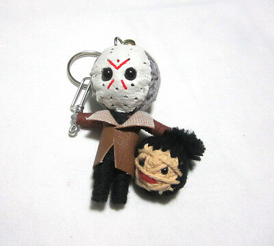 Jason 2 Voorhees  Voodoo String Doll Keychain Ornament Accessory (Thai handmade)